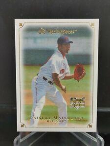 Daisuke Matsuzaka RC - 2007 UD Masterpiece #27 - Boston Red Sox