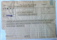 Storia postale - Germania 1948 - Telegramma - Deutsche Reichpost - Karlsruhe