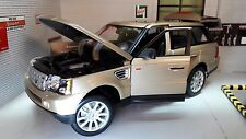 Land Range Rover Sport TDV6 LR3 Gold Detailed Diecast Model 1:18 Maisto Burago