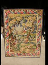Ancienne tapisserie murale 117cm x 151cm