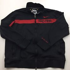 NIKE PAC-MAN Dri Fit Black Track Suit Jacket Manny Pacquiao XL
