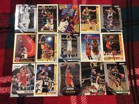 HALL OF FAME Basketball Card Lot 1990-2019 MICHAEL JORDAN DR. J VINCE CARTER +