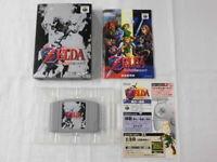 Y2877 Nintendo 64 The Legend of Zelda Ocarina of Time Japan N64 w/box