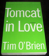 SIGNED by TIM O'BRIEN TOMCAT IN LOVE 1998 FIRST EDITION ADVANCE READING COPY