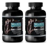 Premium MACA ROOT Extract 1300mg - Catuaba - Sex Enhancer - Potency - 2 Bottles