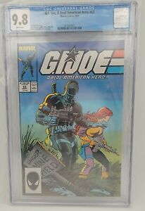 GI Joe A Real American Hero 63, Marvel 1987 - CGC 9.8 White Pages - Classic!