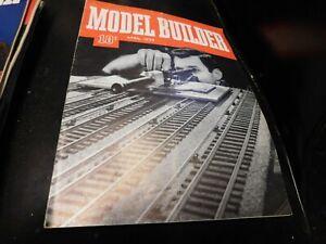 The Model Builder Magazine Vintage Issue April 1939