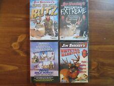 NEW JIM SHOCKEY HUNTING DVD LOT; DEER. BIG BUCK BLITZ. EXTREME. WARRIORS. Sports