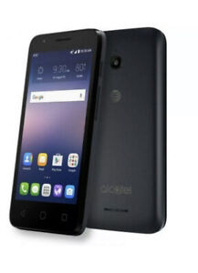 "AT&T Go Phone ALCATELIdeal 4060A  4G 8GB  Prepaid Smartphone 4.5"""