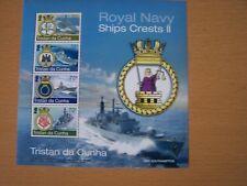 TRISTAN DA CUNHA,2012,SHIPS CRESTS,M/S1058,,U/M,,CAT £7.50,EXCELLENT.