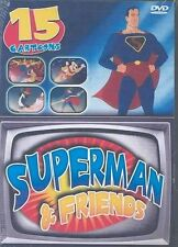Superman and Friends - 15 Cartoons (2004, DVD) - New