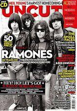 UNCUT #202 3/2014+CD RAMONES 50 Best American Punk LPs JIM JARMUSCH @NEW
