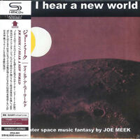 JOE MEEK-I HEAR A NEW WORLD-JAPAN MINI LP SHM-CD F25