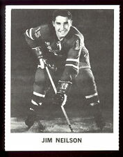 1965 COCA-COLA COKE JIM NEILSON N-MINT NEW YORK N Y RANGERS  HOCKEY CARD