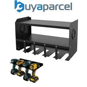 Sealey Powertool Drill Impact Driver Tool Wall Storage Unit Charging Rack PTSR5