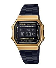 A168WEGB-1B Casio Vintage Men Watches Brand-New (No Box)