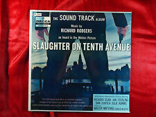 SLAUGHTER ON TENTH AVENUE THE SOUND TRACK ALBUM DECCA MUSIC BY RICHARD RODGERS