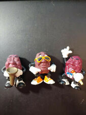 "CALIFORNIA RAISINS ""3"" 1987 BEN INDA-SUN FIGURE HARDEES SERIES"