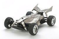 Tamiya 47355 1/10 RC TT-02B Dual Ridge Metallic Black Special Buggy Kit w/ESC