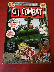 G.I. Combat The Haunted Tank No. 165 Oct 1973 DC Comic