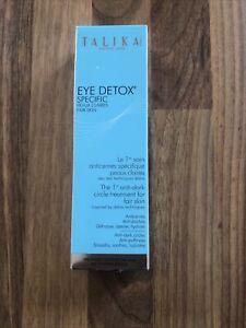 Talika Eye Detox Specific Roll-On Anti-Dark Circle Treatment For Fair Skin 15 ml
