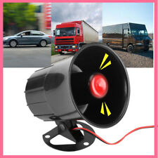 DC12V 15W Wired Loud Horn 110dB Speaker for Car Van Truck Home Alarm System