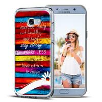 Handy Tasche Samsung Galaxy A3 2017 A320 Schutz Hülle Silikon Cover Back Case