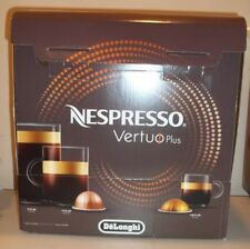 Nespresso Vertuo Plus Coffee & Espresso Maker by DeLonghi Red w/ 12 Capsules