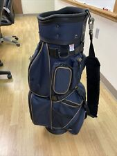 New listing Pre-Owned Golfpak Navy Blue Arnold Palmer 4 Way Divider Golf Bag- Amateur, Hobby