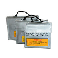 LiPo Li-Po Battery Fireproof Safety Guard Safe Bag Battery Safe Storage Bag