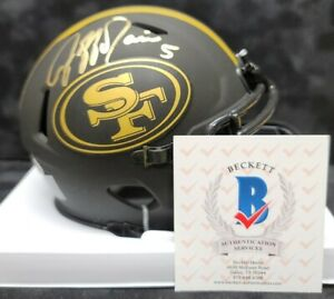 JEFF GARCIA Autographed Signed SAN FRANCISCO 49ERS Eclipse Mini Helmet. BECKETT