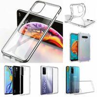 Silikon Schutzhülle Case Cover Ultra Slim Schale Tasche Bumper TPU Transparent