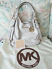 Michael Kors Bedford Legacy Belted Pebbled Leather Shoulder Handbag Purse
