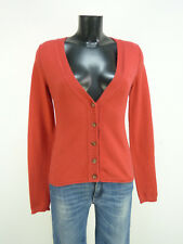 MARC O'POLO STRICKJACKE GR S / ROT & WOLLE MIT CASHMERE   ( O 4670 )