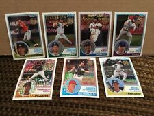 2018 Topps Baseball 35th anniversary Refractor. 15 card lot