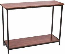 IRONCK Vintage Console Table for Entryway, Entry Table with Shelf Easy Assembly