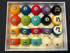 New CYCLOP HYPERION  Billiard Pool TV Pro Ball set (20 balls )
