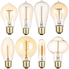 Vintage Industrial Retro 40W E27 Edison Bulb Filament Lights Home Decor Lamp RM