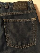 Guess ? Jeans Women's Jeans 060 Bootleg Stretch Blue With Bronze Size 29 X 31