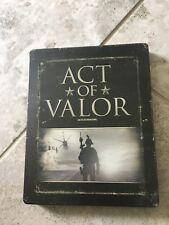 act of valor blu ray And Dvd - Steelbook Case