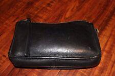 AUTHENTIC Vintage Coach BLACK Leather Clutch Envelope Bag (EUC)
