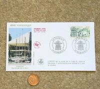 1992 FDC Envelope Masonic French Postage Stamp l'Orient