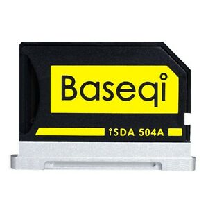 "BASEQI 504A aluminum microSD Adapter for MacBook Pro 15"" Retina (2013 onwards)"
