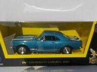 Chevrolet Camaro, Z-28, 1967, - Blue/White, Model, Car, 1/43, Scale, American Mu