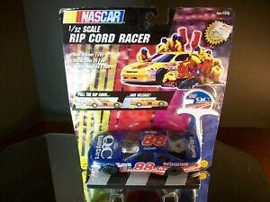Dale Jarrett #88 Quality Care 1:32 1997 Ford Thunderbird Rip Cord Racer Toy Biz