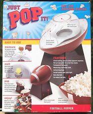 Just Pop It! Football Hot Air Popcorn Popper