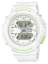 Casio Baby-G * BGA240-7A2 Runner Anadigi White & Apple Green Watch COD #crzycod