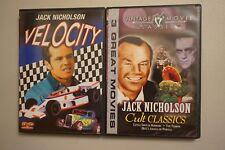 Lot 2 Jack Nicholson Cult Classics Little Horrors Terror Hell's Angel Velocity