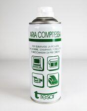 Bomboletta aria compressa 400ml (per pulizia computer stampanti fotocamere)