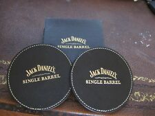 JACK DANIELS, 2 ROUND SINGLE BARREL COASTERS